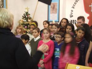 Teplice 5 dětský sbor v nové kapli