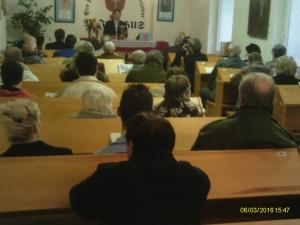 Masopustní neděle setkání při příležitosti narození T.G. Masaryka
