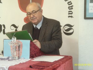 Mgr. Petr Hënig, předseda strany Suverenita  a významný hudební skladatel