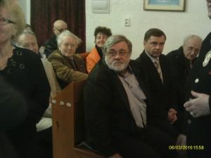 hosté: senátor. Jaroslav Doubrava a starostové z okolních měst